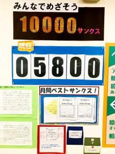 5800カウント
